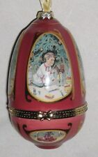 """Multicolor 4 1/2"""" Child w Gifts Music Box Trinket Box Ornament W Piano Music"""