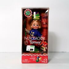 Barbie Kelly Club Nutcracker Tommy Doll Ornament Mattel 2003 NEW