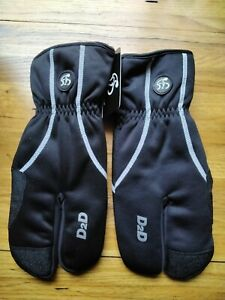 LOBSTER WINTER CYCLING GLOVES SIZE XL. NEW.