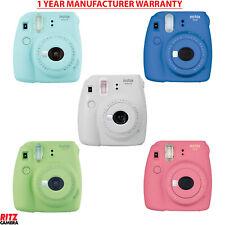 Fujifilm Instax Mini 9 Instant Camera Various Colors + Manufacturer Warranty