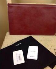 Paul Smith piegate rosso in pelle saffiano TABLET IPAD 2 Custodia/portafoglio RRP £ 190