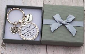 Best Friend Mum Sister Gift Keyring / Gifts for Friend Best Friend Birthday
