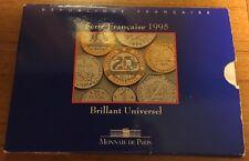 France 1995 BU   Mint Set FDC Monnaie De Paris