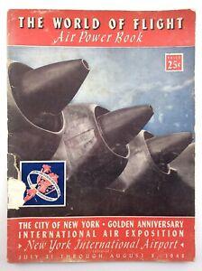 1948 World Of Flight International Air Exposition New York Airport Book N203