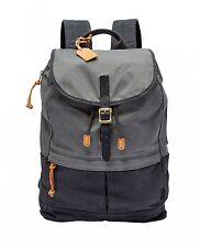 FOSSIL Defender Backpack Rucksack Freizeitrucksack Tasche Blue Blau Neu