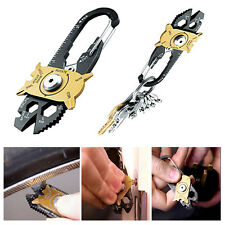 20 In 1 Stainless Steel Screwdriver Wrench Opener Keychain Pocket Multi EDC Kits