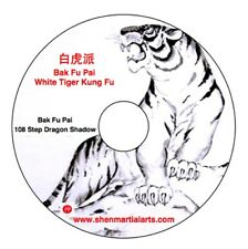 DVD - Bak Fu Pai 2 (White Tiger Kung Fu) 108 Step Dragon Shadow Mantis Hands