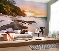 Non Woven Giant Wallpaper 368x248cm Blooming Gems Pink Wall Mural for Bedroom