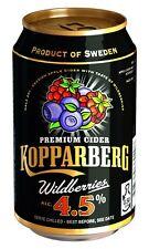 72x KOPPARBERG WILDBEERE WILDBERRIES 4,5% CIDER DOSEN 0,33l