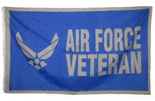 3x5 Air Force Veteran Vet Wings Knitted Polyester Flag 3'x5' Banner grommets