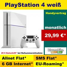 Allnet Flat Vertrag ohne Handy mit PlayStation 4 weiß Handy Bundle Vertrag PS4