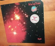 MANFRED MANN'S EARTH BAND Solar Fire RARE PROMO LP POLYDOR  1973 Great condition