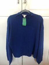 BNWT H&M Consciente Jumper Tamaño Grande 14 16 Azul Luz Superior Suéter De Gran Tamaño