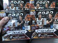 2020-2021 Panini Prizm Draft Picks Collegiate Basketball Mega Box Lot (x4)
