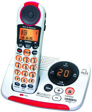UNIDEN SSE25 DIGITAL CORDLESS PHONE IDEAL 4 HEARINNG IMPAIRED OR VISUAL PROBLEMS