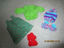 18'' Doll Clothes/Dress/Sweater/Hat /Shoes /Will Fit American Girl Doll