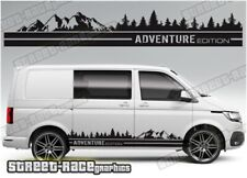 VW Transporter Camper van sides 091 ADVENTURE T4 T5 T6 graphics stickers