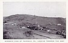 Aerial View of Fairdale Pa Old