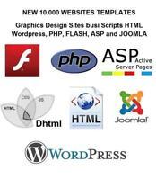 10,000+ Website Templates FLASH WORDPRESS JOOMLA PHP