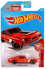 2016 Hot Wheels #105 Then and Now '68 Shelby GT500 orange