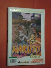 NARUTO GOLD- deluxe- N°57 -DI:MASASHI KISHIMOTO- MANGA PANINI-esaurito