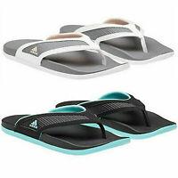Adidas Women's Adilette Comfort Cloudfoam Flip Flop Sandals