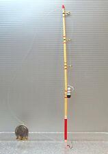 Dollhouse Miniature Wood Fishing Pole with Hook