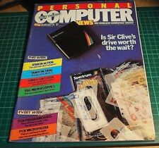 Personal Computer News Magazine. AUG' 83 (  ZX Spectrum, Microdrive)