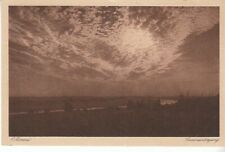 C.HOMMEL Sonnenuntergang gl1928 C7007