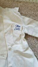 """Vintage Rare 1940's 21"""" Miss Curity Doll Dress & Cap Only"""
