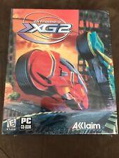 Rare Vintage Sealed Extreme-G G XG2 Acclaim PC CD-ROM Computer Game 1998 Big Box