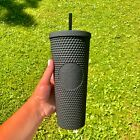 Starbucks Matte Black Studded Tumbler Soft Touch New Release 2021 Cup Limited