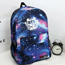 BTS Kpop Bangtan Boys blue bag schoolbag Backpack Kpop NEW  JUNGKOOK JIMIN JIN