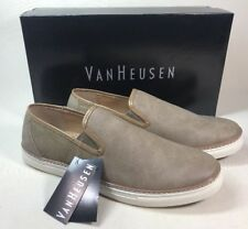 NEW VAN HEUSEN CUPFULL CUP FULL SLIP ON SHOES SNEAKERS TAUPE MENS 11 M 7c832419650