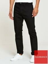 V By Very - Mens Black Jeans - Size 32 Long