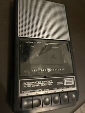 Vtg Ge General Electric Model 3-5015 C Battery Operated Cassette Recorder Player