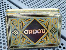 Alte Zigarettendose Blechdose 25 Ordou Oldenkott Neuss - Oriental Cigarettes Tin