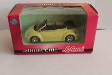Schuco 27232 VW Beetle Cabrio Junior Line gelb 1:43 OVP