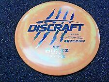 Discraft Esp Swirl Buzzz Paul Mcbeth First Run 4X Mid 177 Sherbet/Gasoline Slick