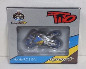 Spark 1/43 Model Miniature Moto Honda Hrc Rabat Spain 2016 Motogp Diecast