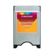 ADATTATORE PCMCIA TRANSCEND PER MEMORIE COMPACT FLASH / ANCHE MERCEDES
