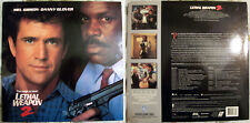 Lethal Weapon 2 - Mel Gibson / Danny Glover /Joe Pesci - WS Laserdisc