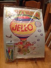 NIP Vintage Jell-O The Adventure Of Sammy & Watson Activity & Coloring Book