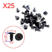 25x Door Panel Clip Carpet Trim Fastener Clips For VW Caddy Golf Jetta Polo