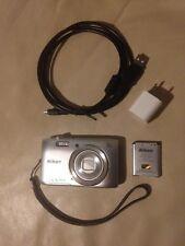 Nikon COOLPIX S3600 20.1 MP Digital Camera w/ 8x Zoom NIKKOR Lens 720p HD Video