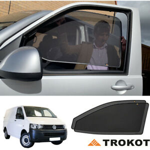 Bespoke VW Transporter T5 Front Windows Privacy Shades Magnetic Screens UV SUN