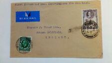 First Direct Air Mail Kano- England via Khartoum 1936