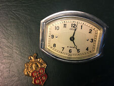 NOS JAEGER 8-day clock 1920s 1930s Packard Cadillac Rolls-Royce WORKS!