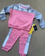 Tracksuit Set dkny 24months New Girl Pink