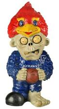 Kansas Jayhawks Team Thematic Zombie Figurine [NEW] NCAA Figure Garden Gnome
